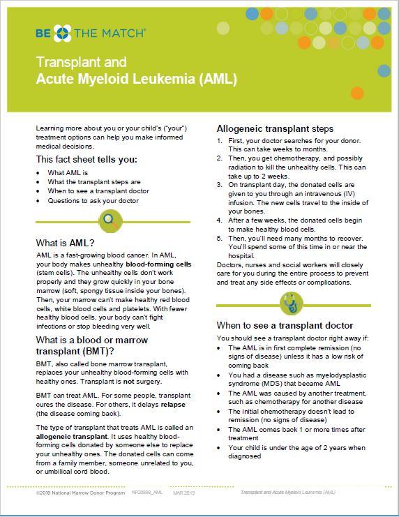 AML Fact Sheet